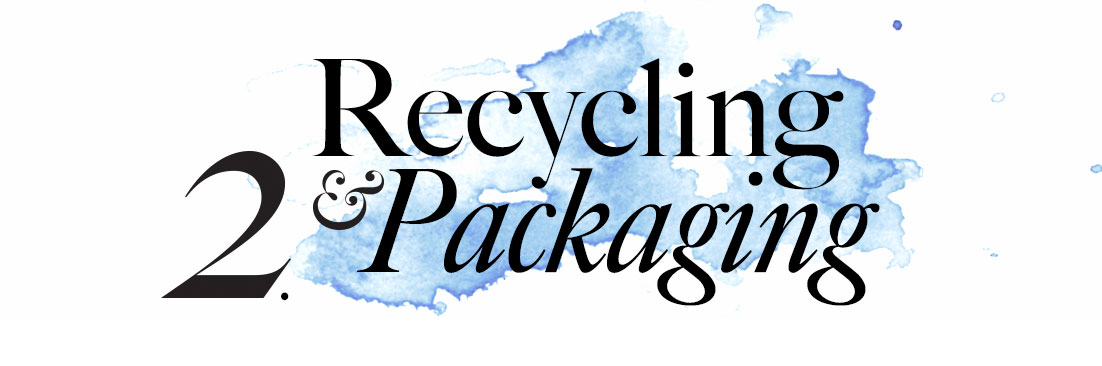 2. Recycling & Packaging